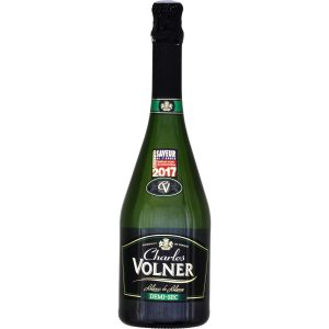 sparking wine charles volner demi-sec - My french Grocery