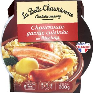 Sauerkraut with Riesling La Belle Chaurienne - My French grocery