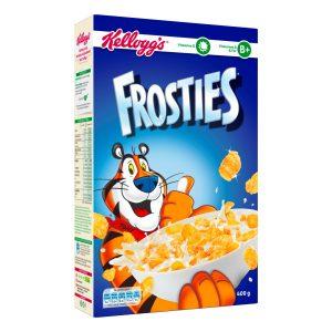 Corn Cereals With Sugar Frosties