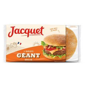 Hamburger Brioche Bread Jacquet