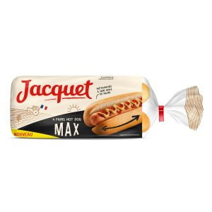 Maxi Hot-Dog Bread Jacquet