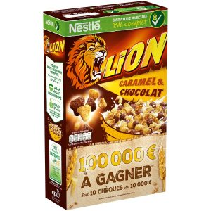 Lion Caramel & Chocolate Cereals