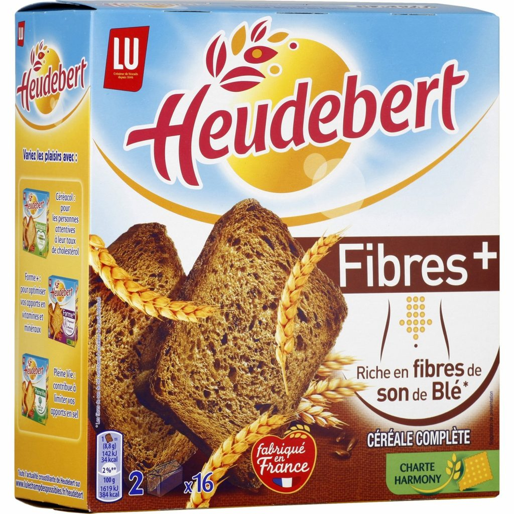 Fiber+ Heudebert Rusks