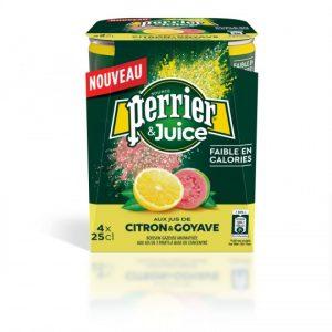 Soft Drink Lemon & Guava Perrier Juice