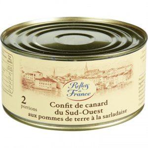 Duck Confit With Potatoes Reflets De France