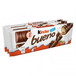 Hazelnut White Chocolate Bars Kinder Bueno