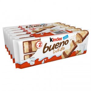 White Chocolate Bars Kinder Bueno