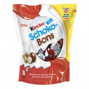 Hazelnut Chocolate Candies Kinder Schoko-bons